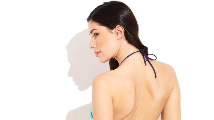 Alice Panikian Side Face And Back Pose Photoshoot